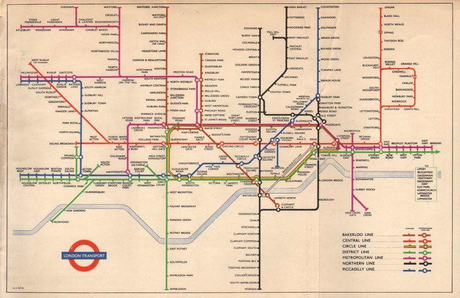 La distorsión de los mapas de metro