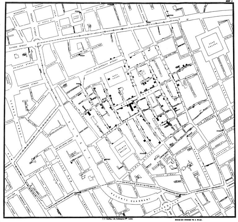 Georreferenciar o la importancia de poner los datos en un mapa